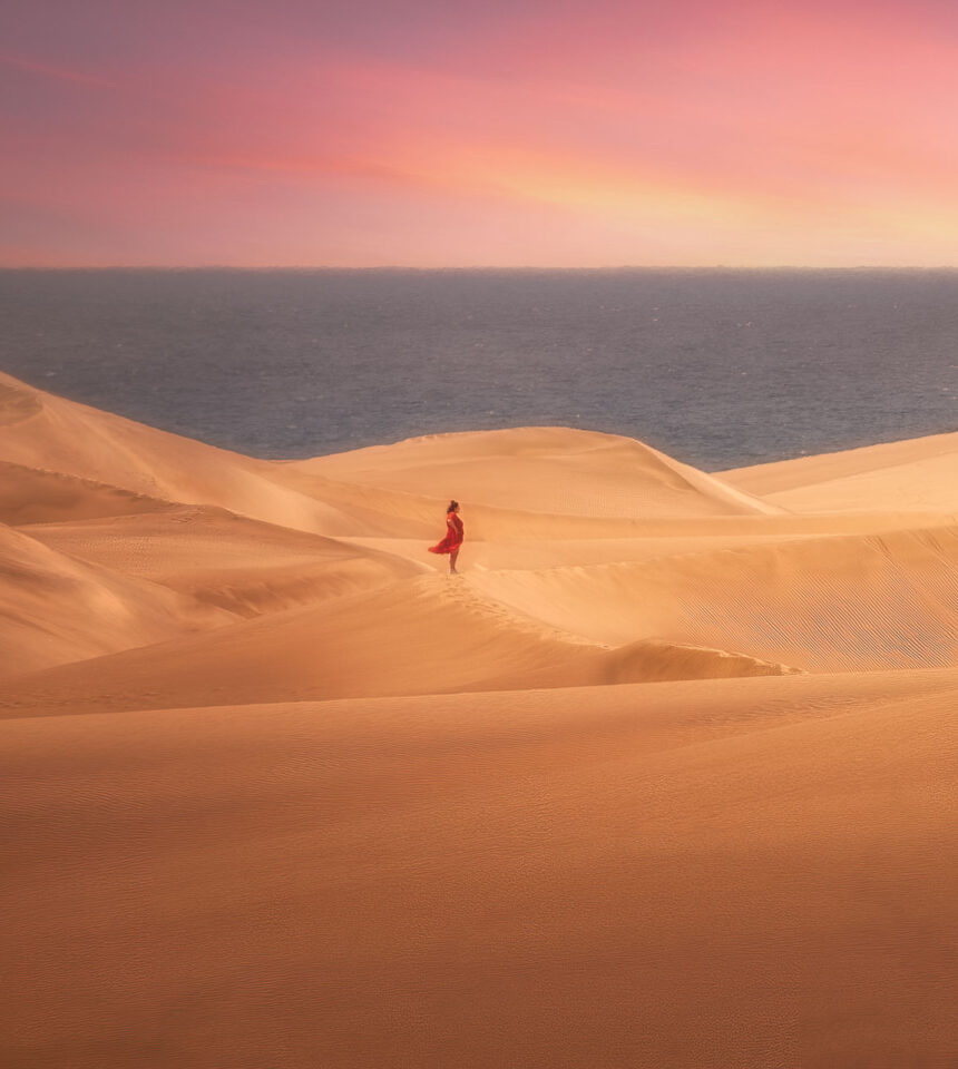 Alone in the Sand